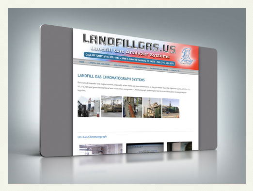 landfill gas web design