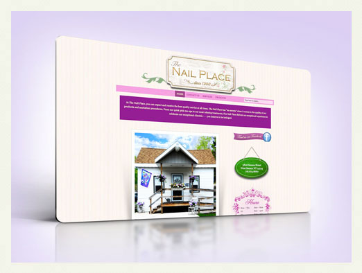 nail place web design