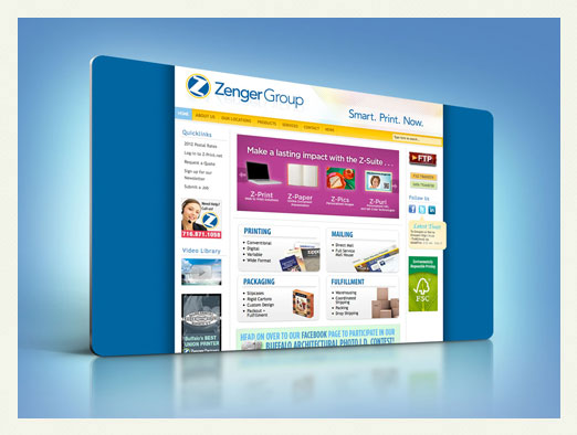 zenger group web design